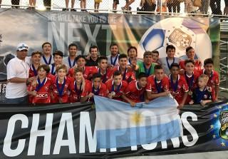 サッカー総合情報サイト SOCCER KING.  C.Aインデペンディエンテ U-13の国際大会優勝のニュースが報じられました